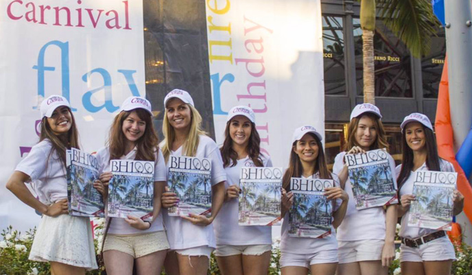 Promo Staffing Beverly Hills Courier 2014