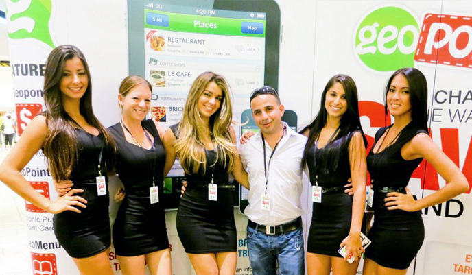 Promo Staffing Geopon Launch Event